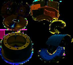 замена накладок тормозных колодок, расточка тормозных барабанов в Волгограде