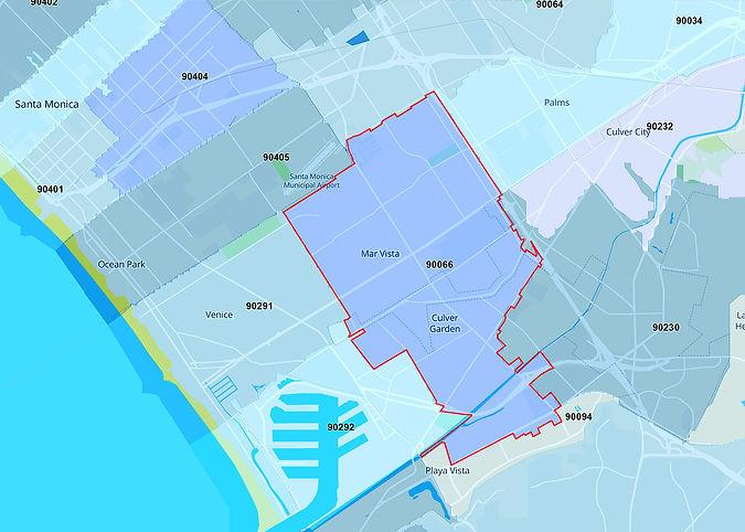 Mar Vista Map