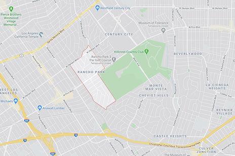 Rancho Park Los Angeles Map