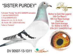 SISTER PURDEY