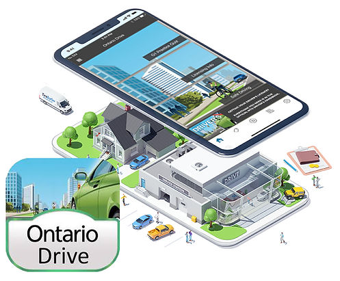 Ontario Drive App G1 test practice image