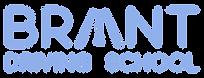 Brant Driving School Brantford LOGO Blue