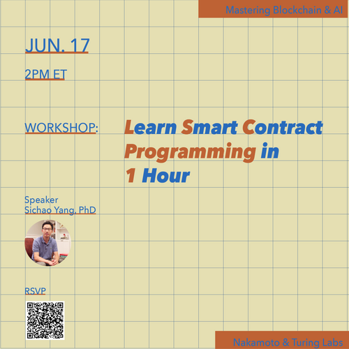 Learn Smart Contract Programming in 1 Hour