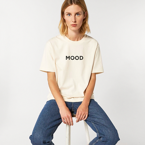the mood tee | 100% organic t-shirt | unisex and relaxed fit