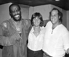 Eppy with Richie Havens