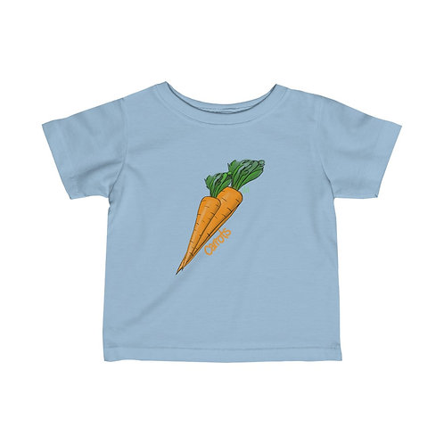 Carrots Infant Tee (part of the Peas & Carrots set)