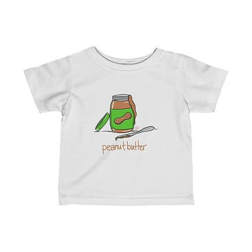 Peanut Butter Infant Tee (part of the PB+J set)