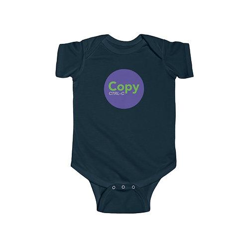 Purple/Green Copy Onesie