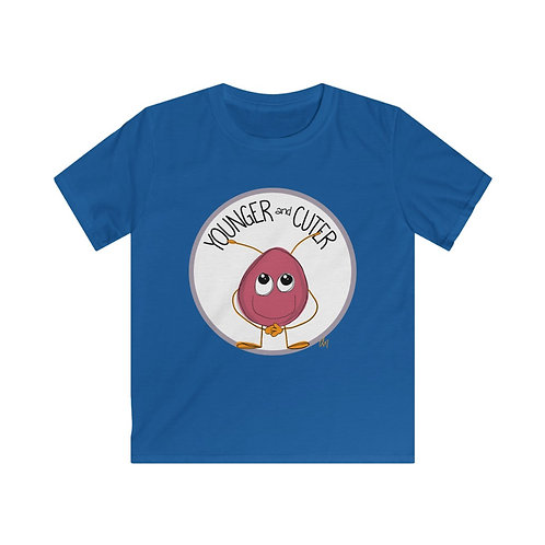 Younger and Cuter Big Kid Tee