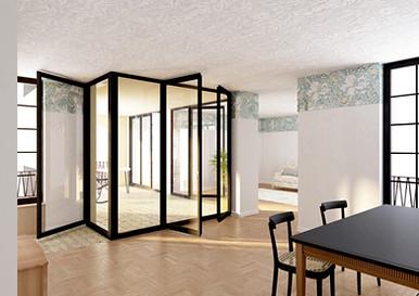 Innenraumvisualisierung Wohnprojekt, Winterthur CH