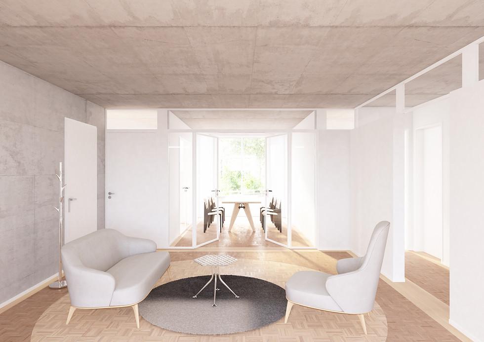 Innenraumvisualisierung Wohnprojekt, Amsterdam NE