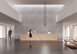 Innenraumvisualisierung Clientis Biene Bank, Altsätten SG