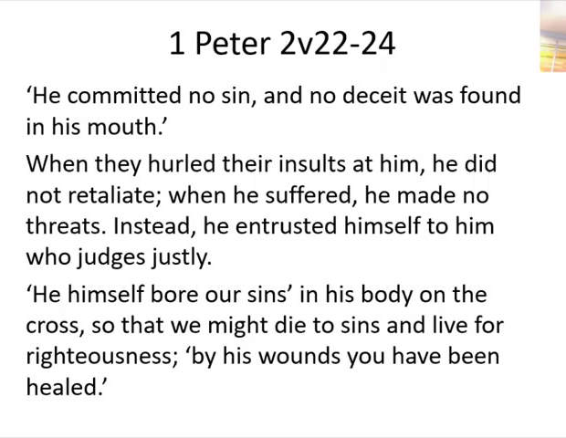 12th July - Part 1 - Who we are in Christ