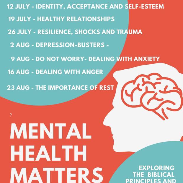 Mental Health Matters Series Calendar