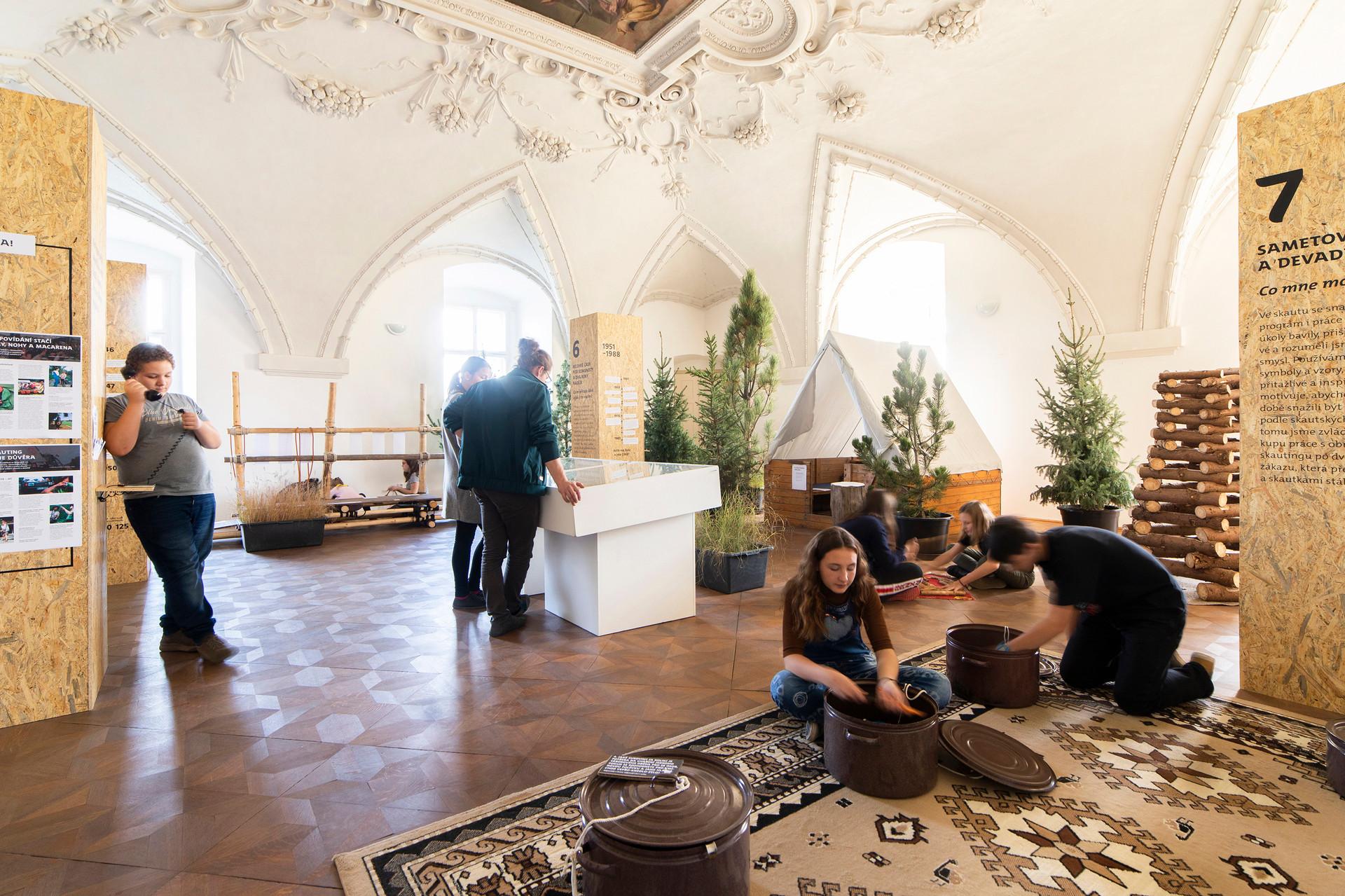 Instalation at the Holešov castle