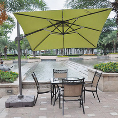 Single Top Rome Patio Umbrella 2.5mx2.5m XLMA002