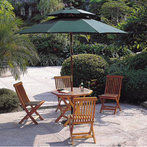 Patio Umbrella Double Top