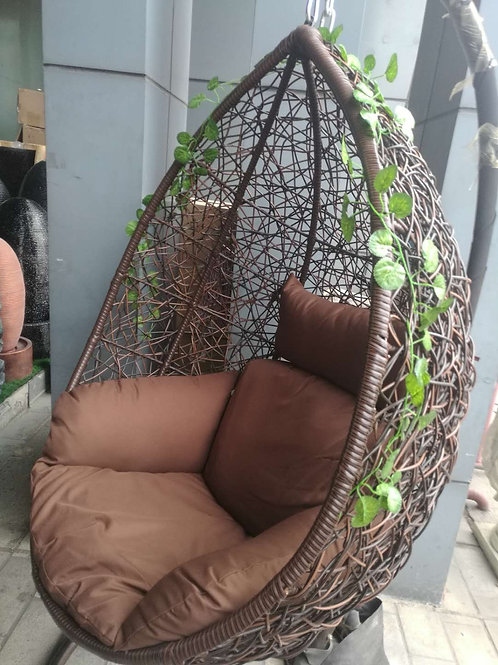 Bird-Nest Extra Swing Chair (Extra Wicker)