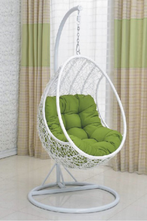 White Swing Chair with handle