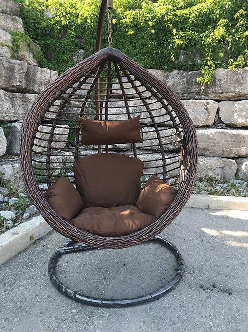 New Arrival Deluxe Twist Edge Swing Chair