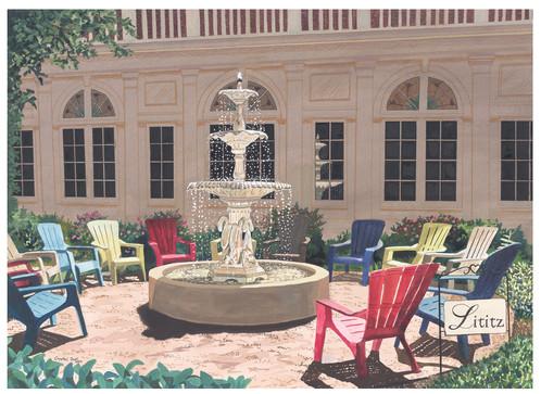 Lititz Springs Inn Fountain_1
