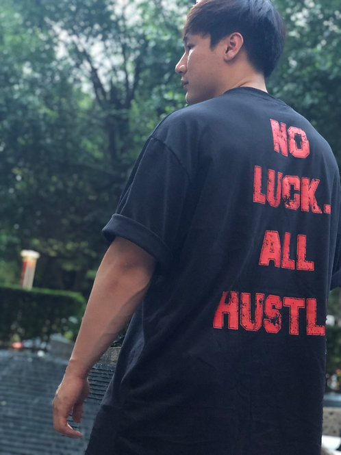 Hero Athletes - No Luck All Hustle Oversize Tees