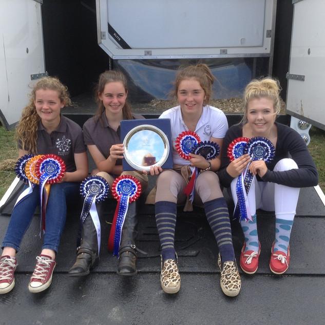 Horse Trials 100 team 2015.jpg