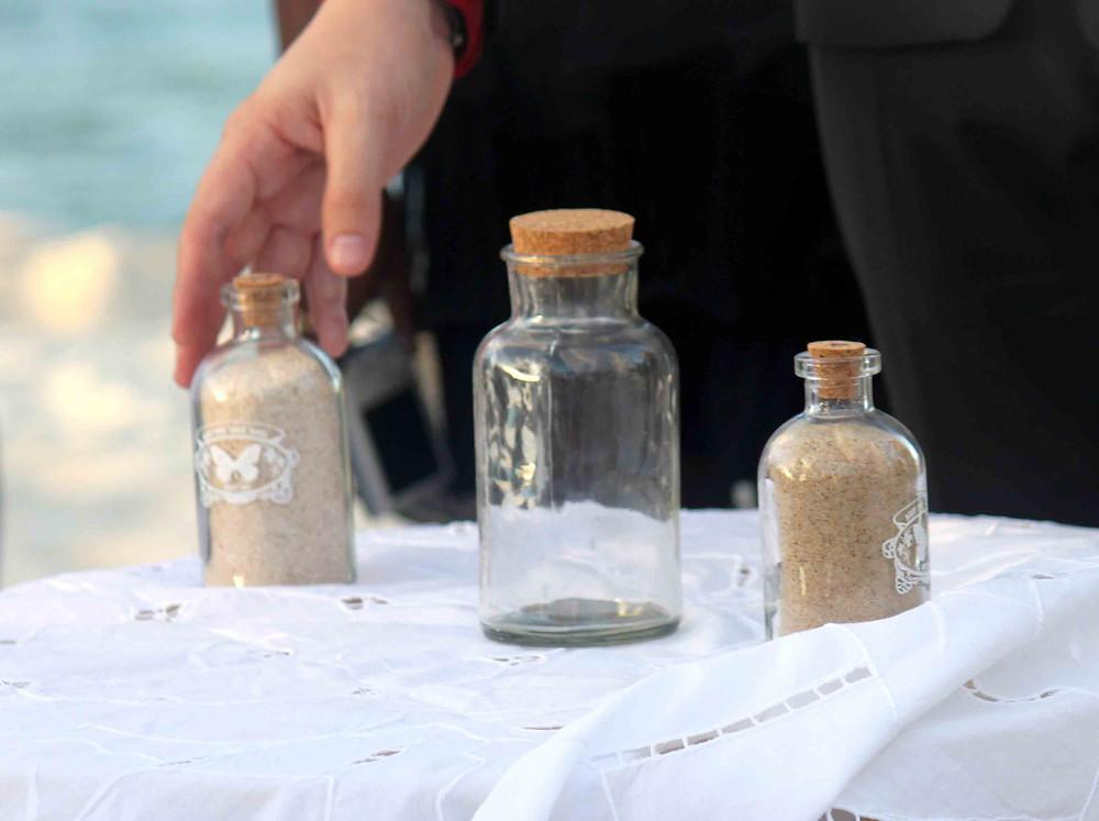 Cérémonie du sable en Guadeloupe - photographe de mariage