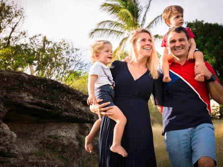 Séance photo en famille - des souvenirs avant de partir