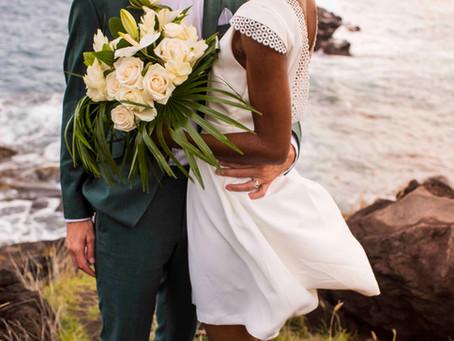 Le mariage tropical chic de Christella & FX en Guadeloupe