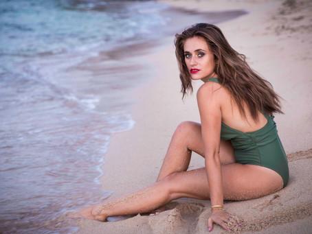 Shooting Portrait « Glam'rock » à la plage
