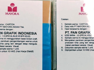 Assignment from PT MAYORA INDAH Tbk > Standardization of MAYORA's Packaging Colors