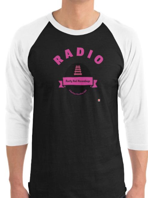Rusty Rail Recordings Radio 3/4 length rocker shirts