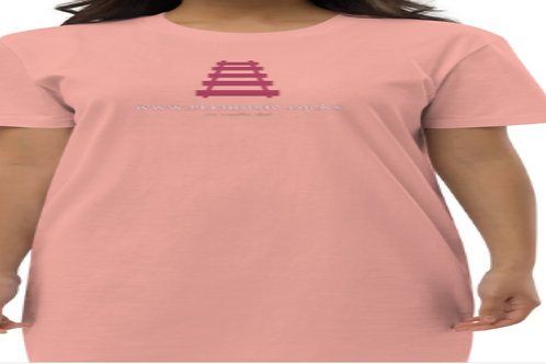 Ladies cotton t shirt extra long sleeper/dress