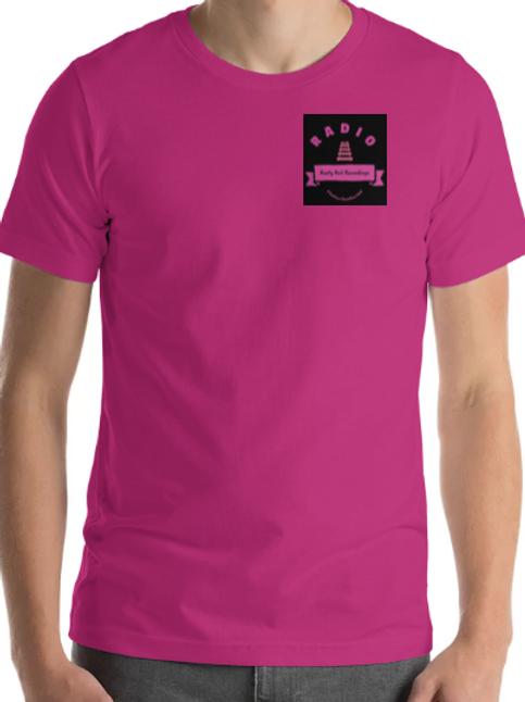 The Bella + Canvas 3001 RRRR logo T shirt athletic