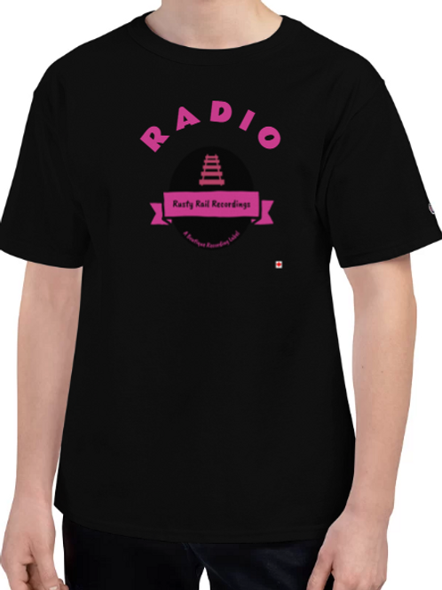Champion Brand RRRR logo t shirts unisex