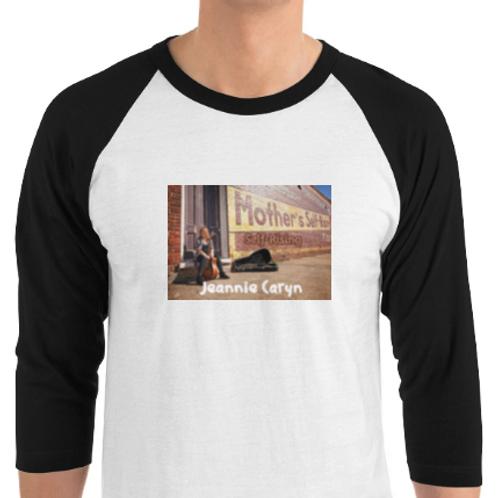 Tultex 245 Unisex 3/4 length sleeve rocker shirts