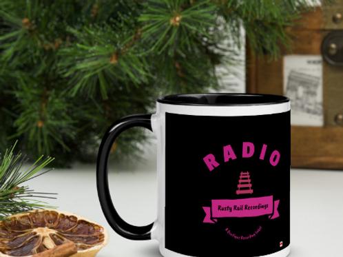 11 OZ Rusty Rail Recordings Radio Ceramic Mug