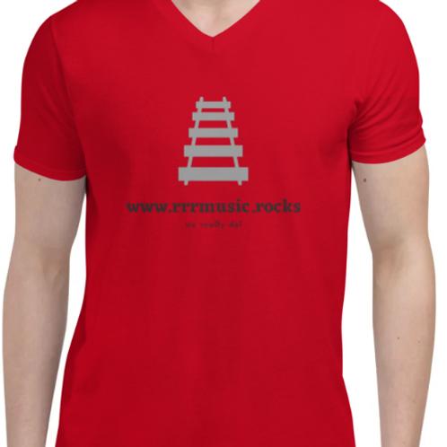 rrrmusic vneck t shirt