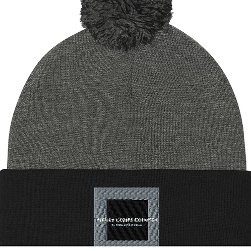 Rickey Combs We Stand Against Racism Beanie Hat