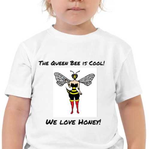 Toddlers 2T-5T QueenBeeTee Shirt!
