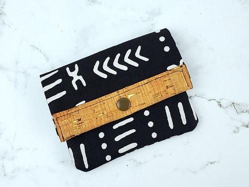 Mudcloth Mini Wallet