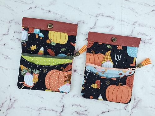 Autumn Gnome Mini Wallet