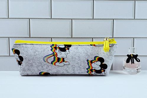Mickey Rainbow Pride Long Mini Pouch