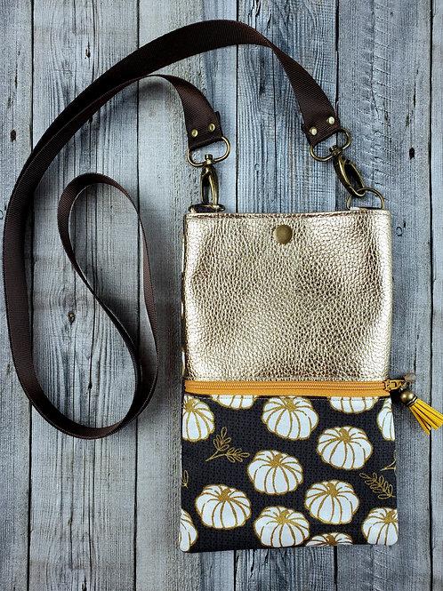 Pumpkin Glam Forage Bag