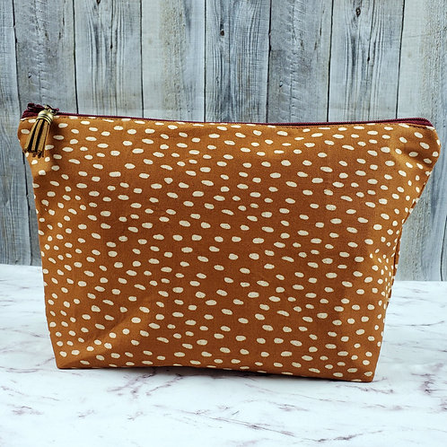 Large Fawn Crossing Makeup Clutch