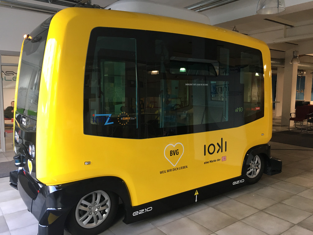 autonomous vehicle in Berlin
