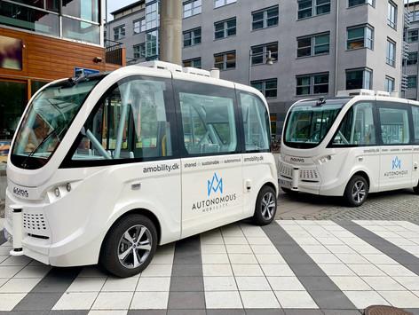 Autonomous Shuttle Buses in Gothenburg