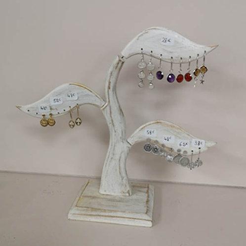 Boucles d'oreilles argent , plaqué or et pierres, améthyste,pierre de lune, corn