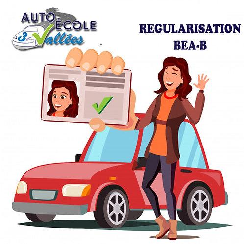 Régularisation BEA-B